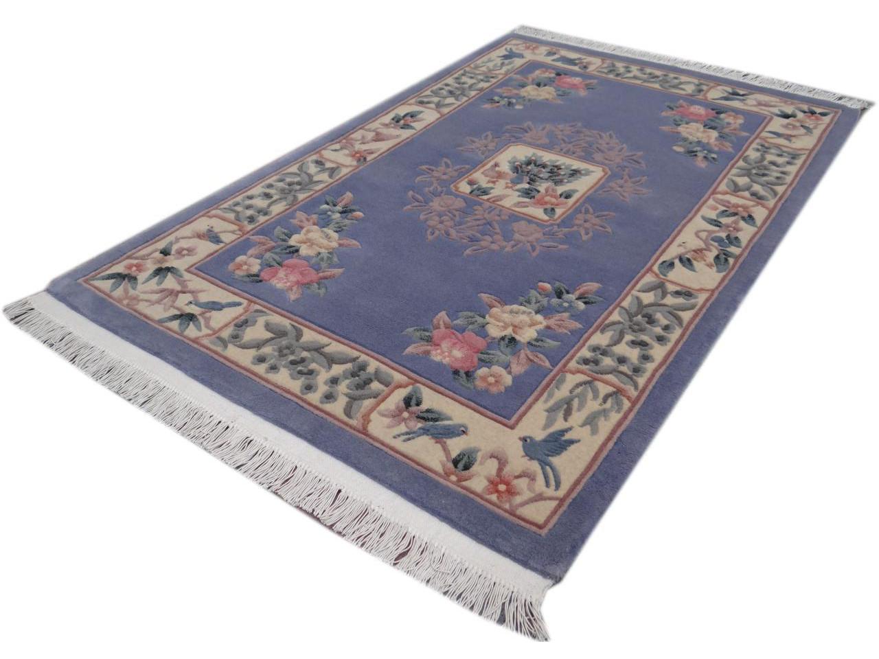 kangshi imp rial tapis chinois n 2086 183x118cm. Black Bedroom Furniture Sets. Home Design Ideas