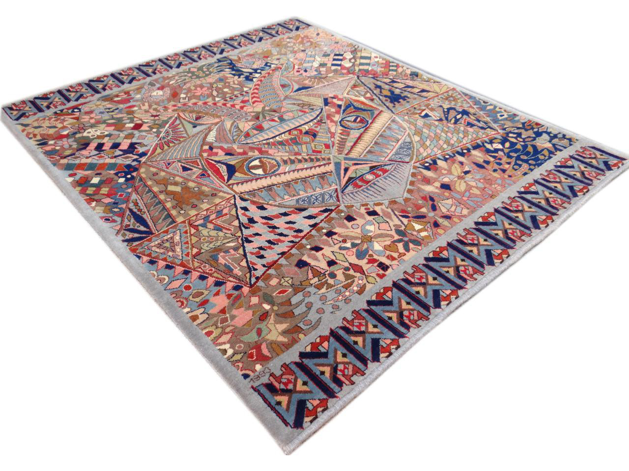 39 the mask 39 of belgian creation tapis luxury n 2181 177x150cm - Tapis contemporain belgique ...
