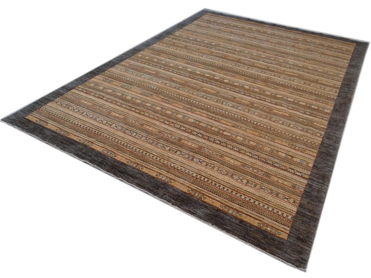 Gabri etnische tapijten n 2240 296x204cm - Etnische pouf ...
