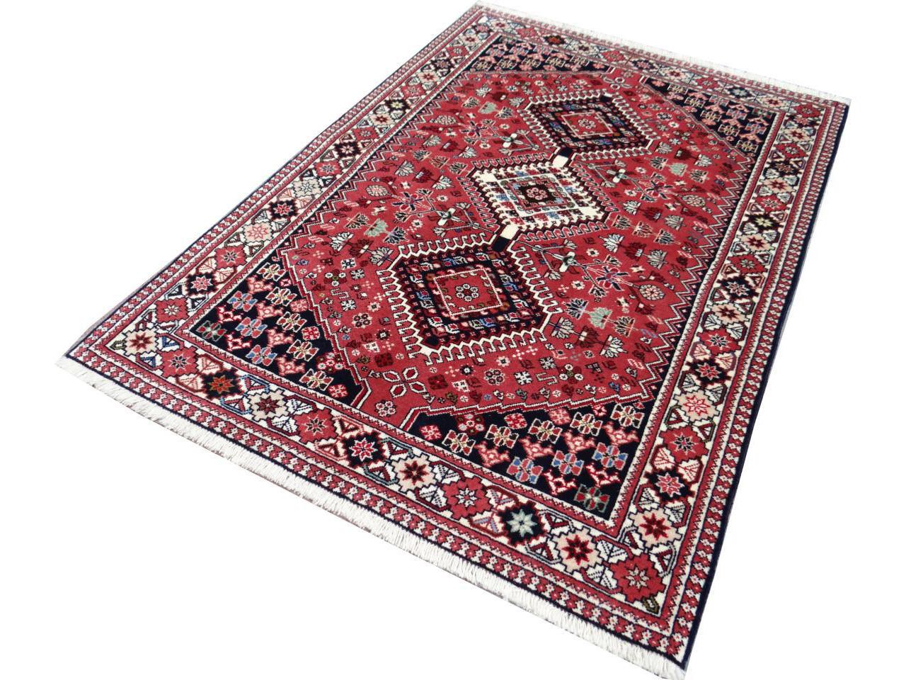 yalameh tapis persans n 2313 148x102cm. Black Bedroom Furniture Sets. Home Design Ideas