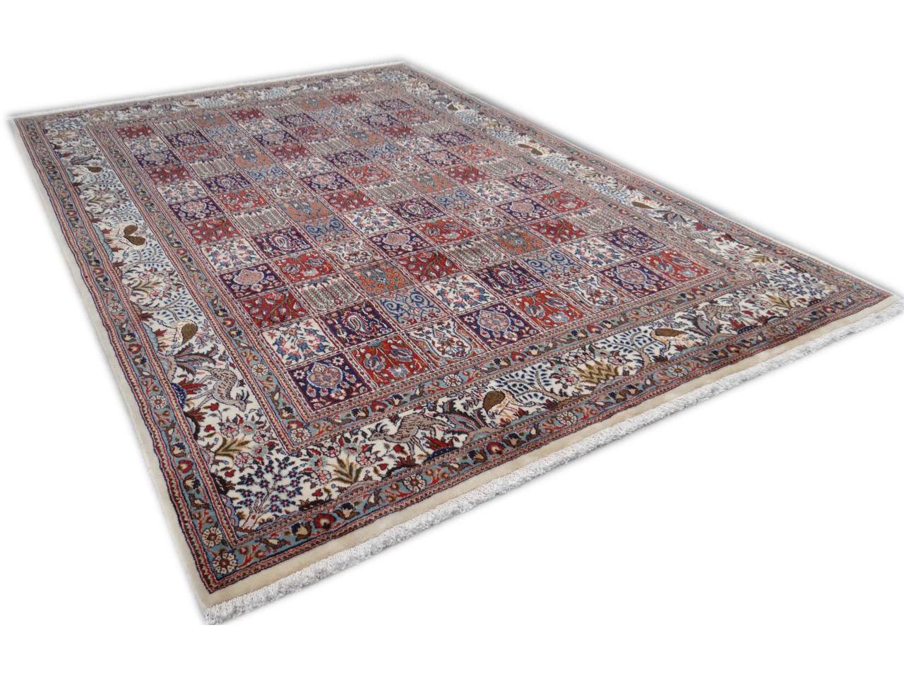 moud jardin tapis persans n 2430 294x202cm. Black Bedroom Furniture Sets. Home Design Ideas