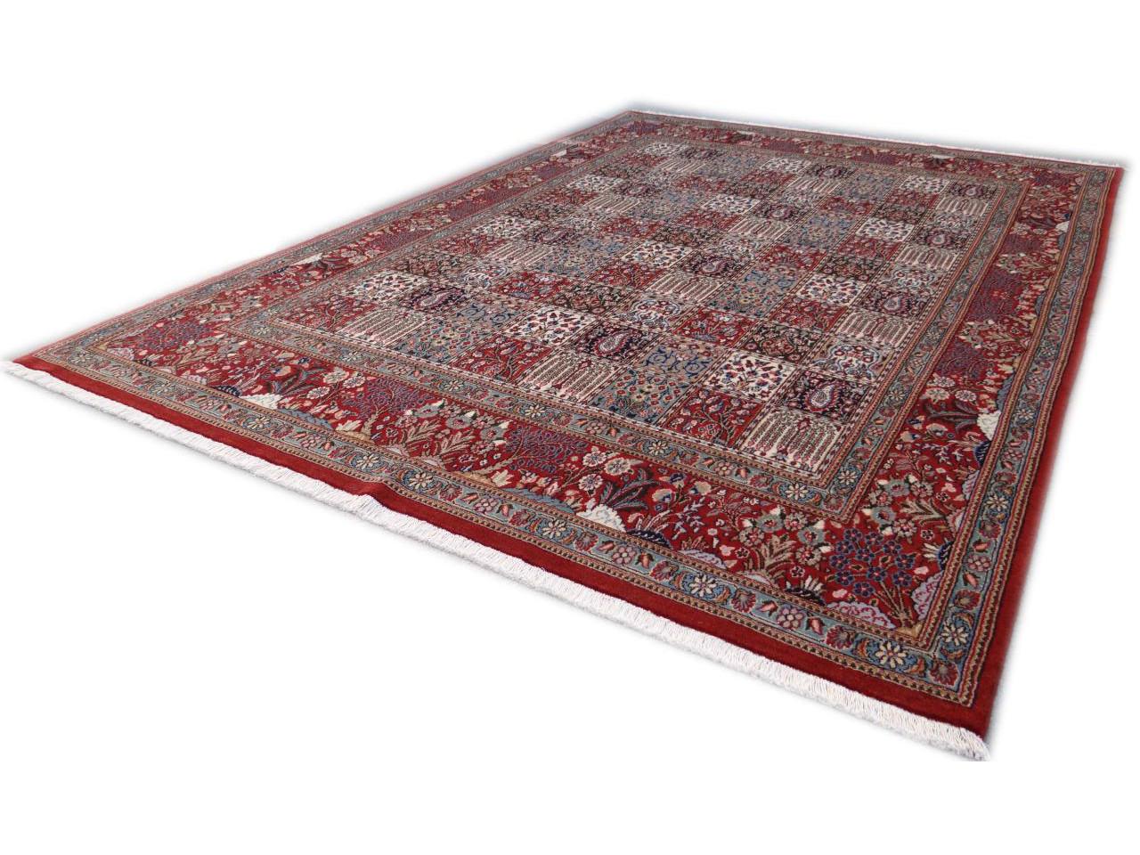 moud jardin tapis persans n 2487 301x213cm. Black Bedroom Furniture Sets. Home Design Ideas
