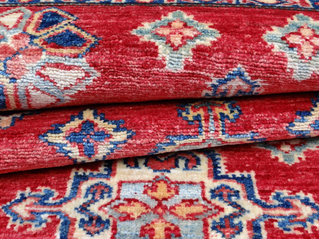 ghazni fin tapis ghazni kazak n 2472 158x101cm. Black Bedroom Furniture Sets. Home Design Ideas