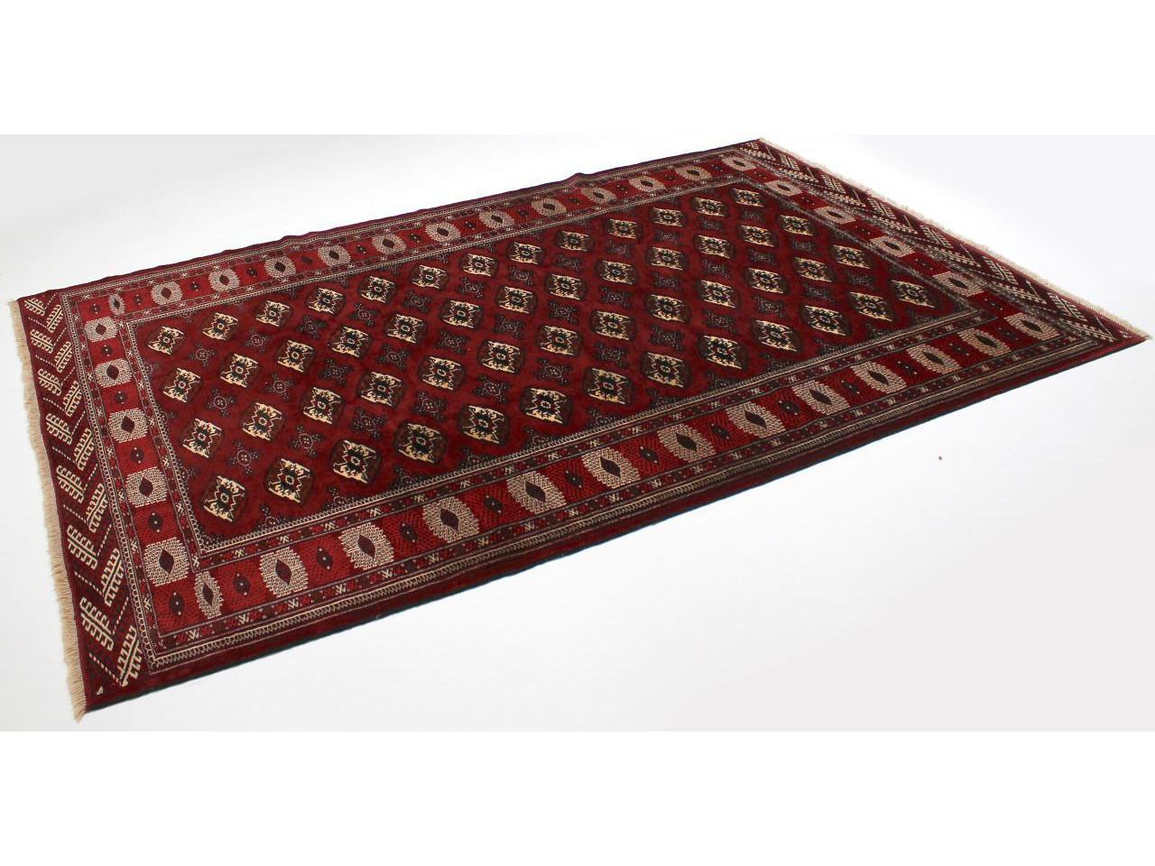 turkm ne tapis persans n 4737 339x224cm. Black Bedroom Furniture Sets. Home Design Ideas