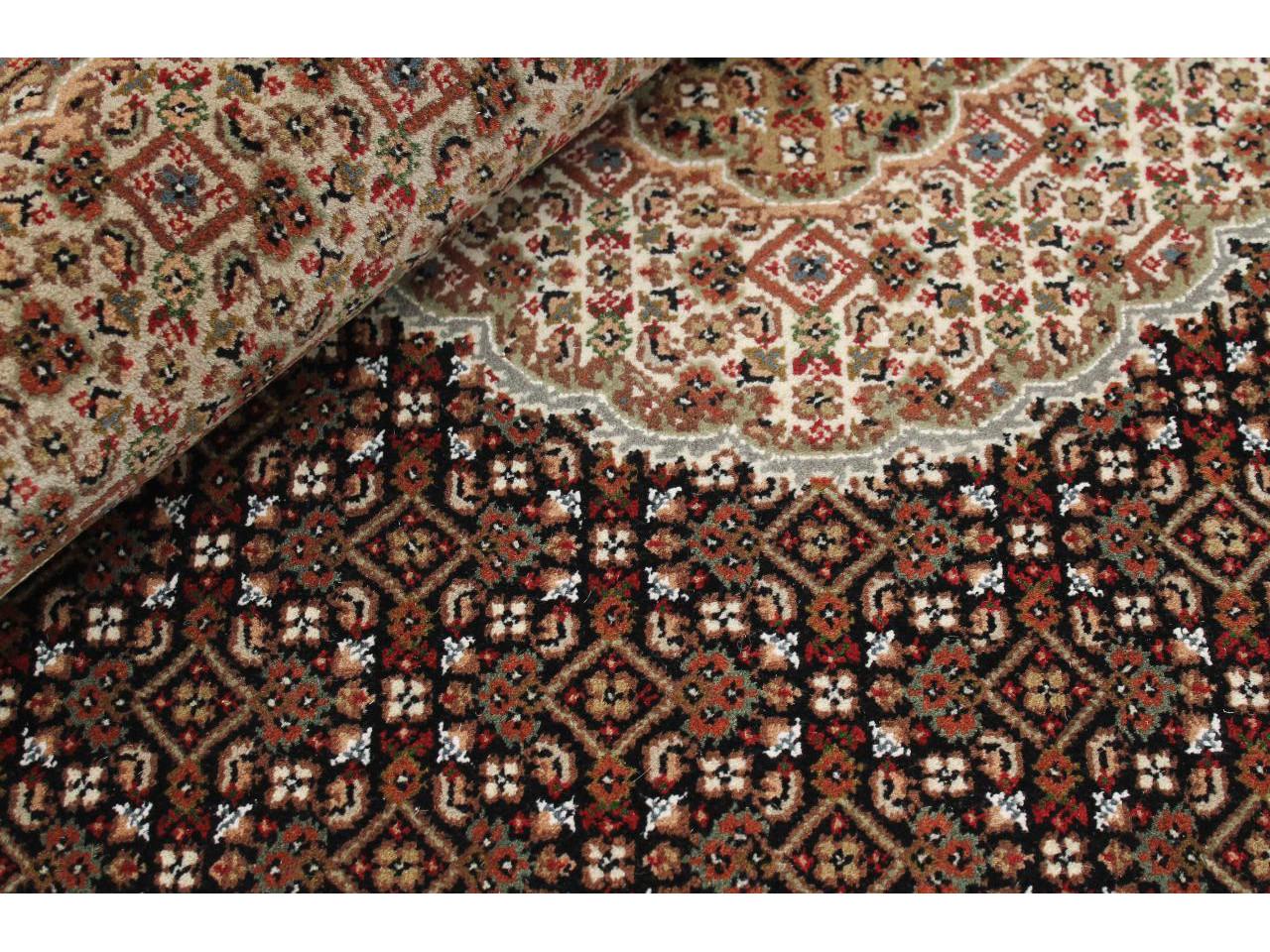 Tabriz indi tapis classiques n 23728 200x140cm - Tapis 200x140 ...
