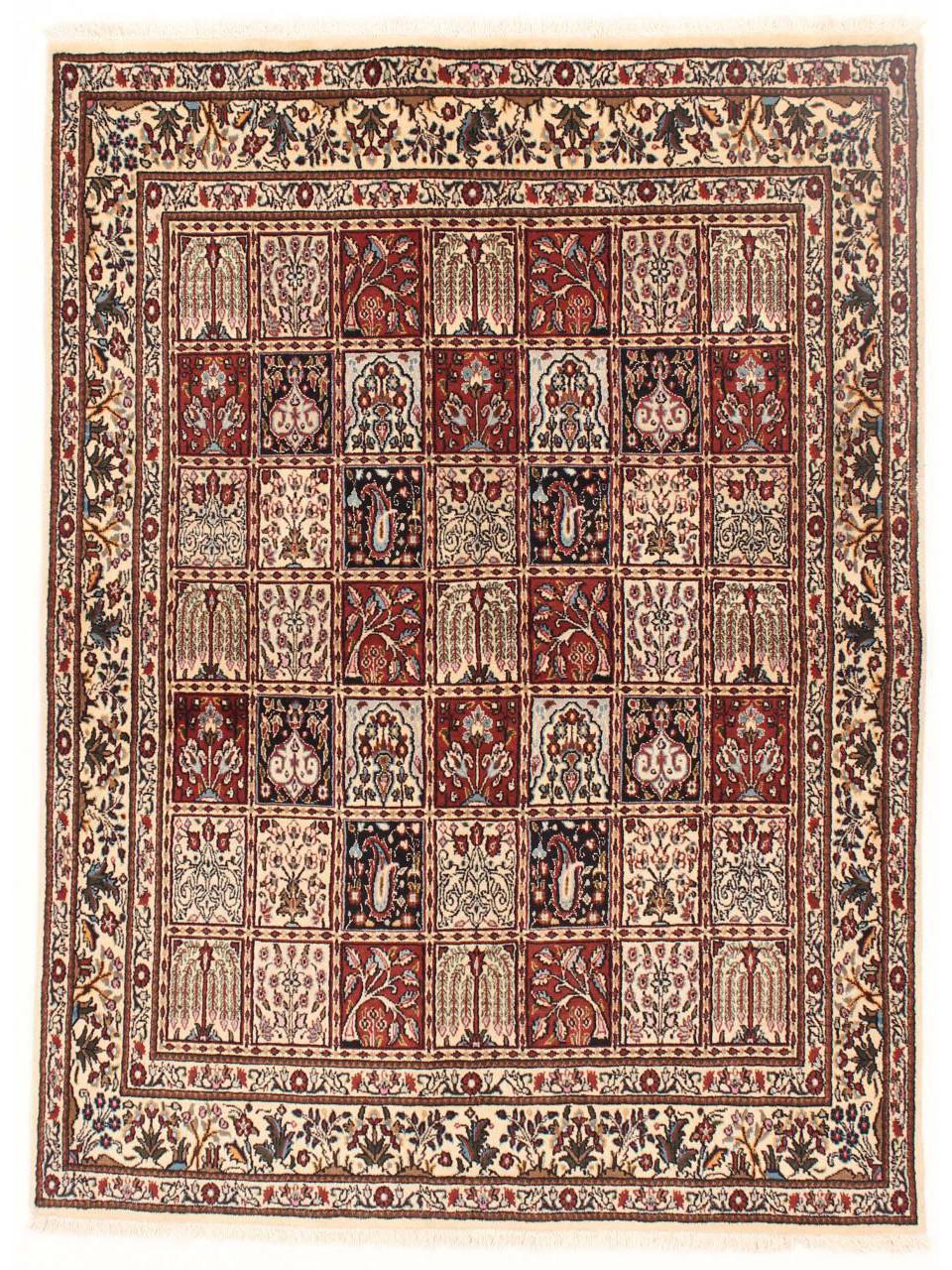 moud jardin tapis persans n 26436 193x143cm. Black Bedroom Furniture Sets. Home Design Ideas