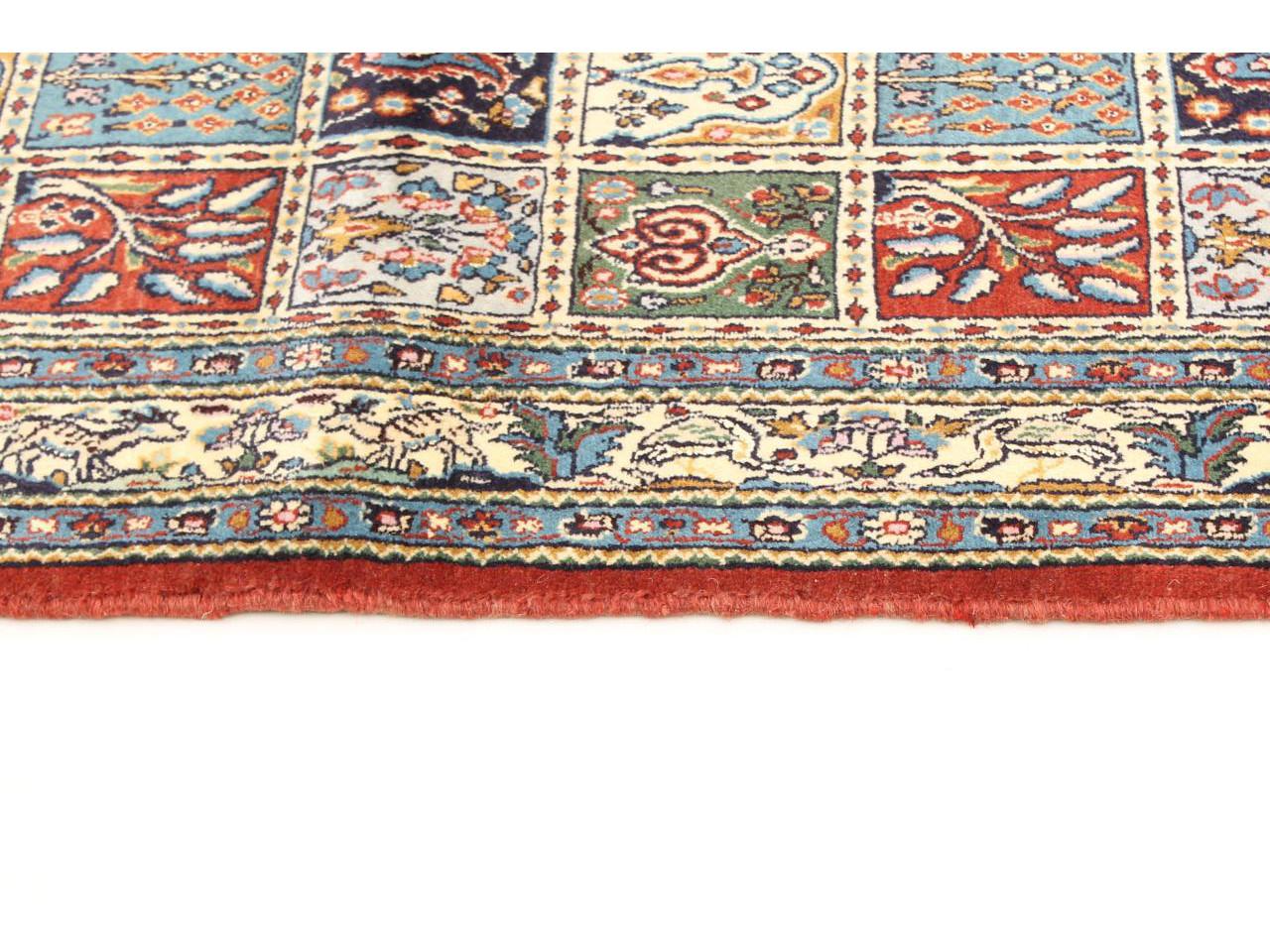moud jardin tapis persans n 27551 145x100cm. Black Bedroom Furniture Sets. Home Design Ideas