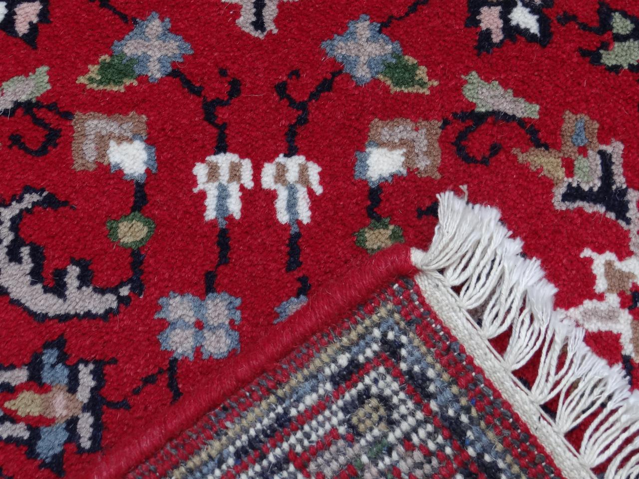 Herabad Floral Rouge Tapis Classiques N 58 90x60cm