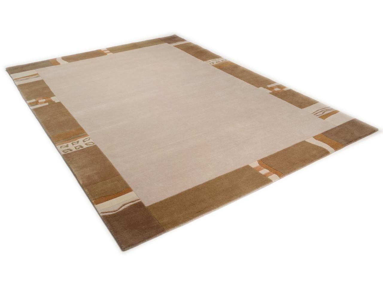 avantis sable tapis bordures n 1881 140x70cm. Black Bedroom Furniture Sets. Home Design Ideas