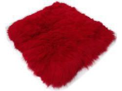Coussin peau de mouton Caresse 50x50