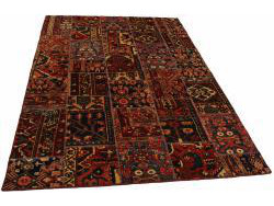 Vintage Persian Royal Patchwork Malayer 239x158