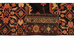Vintage Persian Royal Patchwork Malayer 237x160