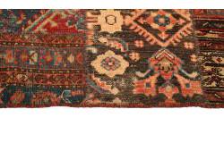 Vintage Persian Royal Patchwork Malayer 244x160