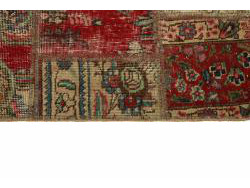 Vintage Patchwork persan 205x145