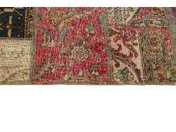 Vintage Patchwork persan 205x141