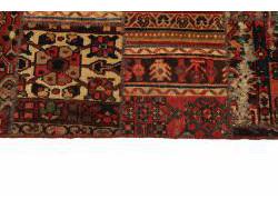 Vintage Persian Royal Patchwork Malayer 256x72