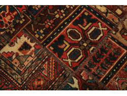 Vintage Persian Royal Patchwork Malayer 257x83