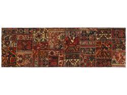 Vintage Persian Royal Patchwork Malayer 259x81