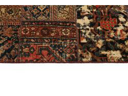 Vintage Persian Royal Patchwork Malayer 296x250