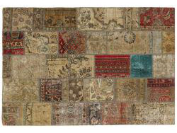 Vintage Patchwork persan 205x142