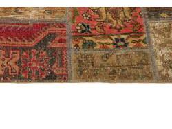 Vintage Patchwork persan 205x140
