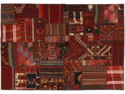 Vintage Patchwork persan 202x141