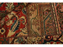 Vintage Persian Royal Patchwork Malayer 204x147