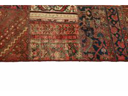 Vintage Persian Royal Patchwork Malayer 208x146