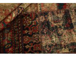 Vintage Persian Royal Patchwork Malayer 210x146