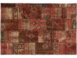 Vintage Persian Royal Patchwork Malayer 213x144