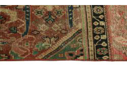 Vintage Persian Royal Patchwork Malayer 194x140