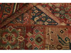 Vintage Persian Royal Patchwork Malayer 200x142