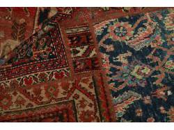 Vintage Persian Royal Patchwork Malayer 200x140