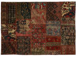 Vintage Persian Royal Patchwork Malayer 202x138