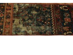 Vintage Persian Royal Patchwork Malayer 200x140