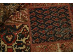Vintage Persian Royal Patchwork Malayer 200x138