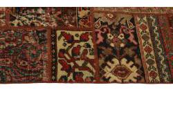 Vintage Persian Royal Patchwork Malayer 201x140