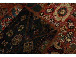 Vintage Persian Royal Patchwork Malayer 250x70