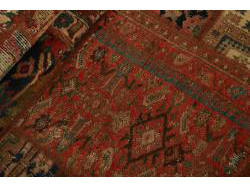 Vintage Persian Royal Patchwork Malayer 252x71