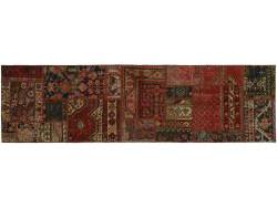 Vintage Persian Royal Patchwork Malayer 250x70