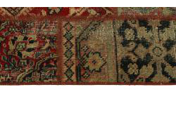 Vintage Persian Royal Patchwork Malayer 246x71
