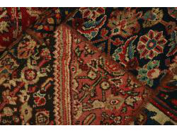 Vintage Persian Royal Patchwork Malayer 248x68