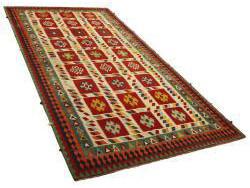 Kilim Persan Vintage 293x151