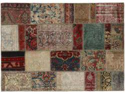 Vintage Patchwork persan 196x141