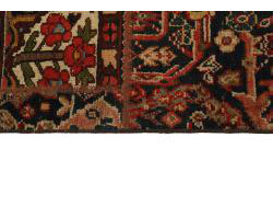 Vintage Persian Royal Patchwork Malayer 195x137