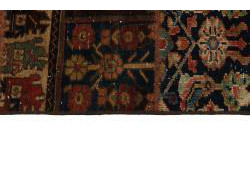 Vintage Persian Royal Patchwork Malayer 196x136
