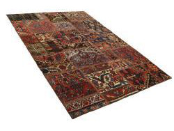 Vintage Persian Royal Patchwork Malayer 200x141
