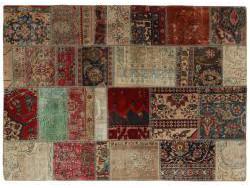 Vintage Patchwork persan 194x142