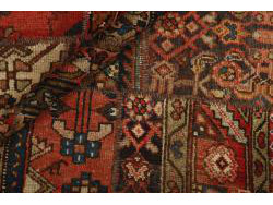 Vintage Persian Royal Patchwork Malayer 197x142