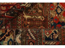 Vintage Persian Royal Patchwork Malayer 233x156